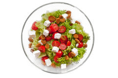 Ceasar Salad with rusks Royalty Free Stock Image