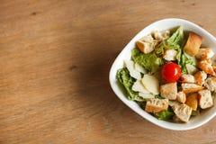 Ceasar salade royalty-vrije stock afbeelding