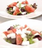 Ceasar Salads Stock Photography