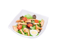 Ceaser salade Royalty-vrije Stock Afbeeldingen