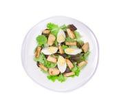 Ceaser salade Stock Afbeeldingen