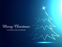 Ceative christmas tree Royalty Free Stock Images
