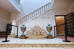 CEAUSESCU FAMILY HOUSE - PRIMAVERII PALACE MUSEUM Royalty Free Stock Photography