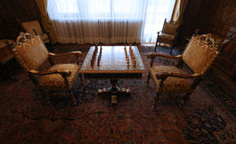 CEAUSESCU FAMILY HOUSE - PRIMAVERII PALACE MUSEUM Royalty Free Stock Photo