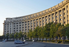 Ceausescu palace street Stock Photography