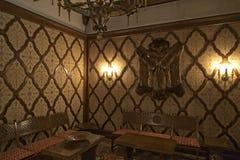Ceausescu-Palast-Wohnzimmer lizenzfreies stockbild