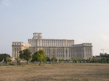 Ceausescu's Palace Stock Photography