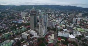 Cebú Ciudad altamente urbanizada en la provincia de la isla de Cebú en Visayas central, Filipinas almacen de video