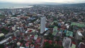 Cebú Ciudad altamente urbanizada en la provincia de la isla de Cebú en Visayas central, Filipinas almacen de metraje de vídeo