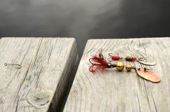 Cebo de pesca Imágenes de archivo libres de regalías
