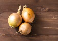 Cebolas para cozinhar Imagem de Stock Royalty Free