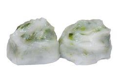 Cebolinha de alho cozinhado imagens de stock royalty free