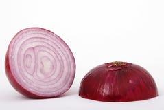 Cebolla roja Imagen de archivo libre de regalías