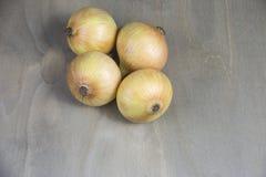 Cebollas, verduras Foto de archivo libre de regalías
