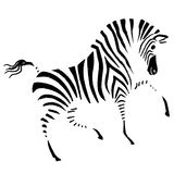 Cebra stock de ilustración