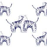 Cebras Fotografía de archivo libre de regalías