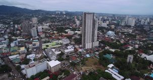 Cebu City. Highly urbanized city in the island province of Cebu in Central Visayas, Philippines.  stock video