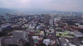 Cebu City. Highly urbanized city in the island province of Cebu in Central Visayas, Philippines stock footage