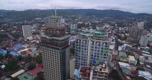 Cebu City. Highly urbanized city in the island province of Cebu in Central Visayas, Philippines stock video