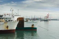 Cebu City Philippines container port Royalty Free Stock Photos