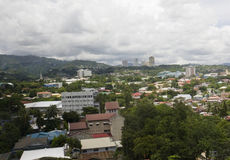 Cebu city skyline Stock Photo