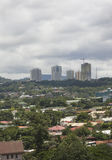 Cebu city skyline Royalty Free Stock Photography