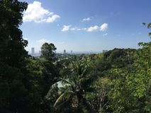 Cebu city view. In the Philippines Royalty Free Stock Photo