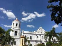 Cebu-Großstadtbewohner-Kathedrale Stockfotos