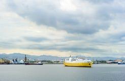 Cebu harbor Stock Photo