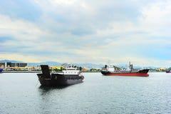 Cebu harbor Royalty Free Stock Photo