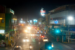 Cebu at night Royalty Free Stock Images