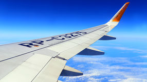 Cebu pacific aircraft wing Stock Photos