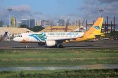 Cebu Pacific Wietrzy zdjęcia royalty free