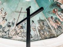 Cebu stadsMagellan's kors fotografering för bildbyråer