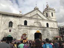 Cebu Sto Capela de Niño imagens de stock