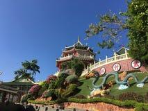 Cebu taoisty świątynia zdjęcie royalty free