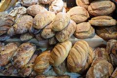Cebulkowy chleb i grupa piec towary obrazy royalty free