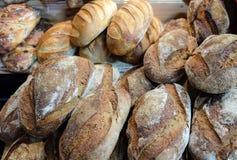 Cebulkowy chleb i grupa piec towary fotografia stock
