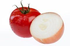 cebulkowy pomidor Zdjęcie Royalty Free