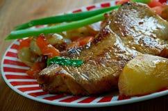 Cebulkowy stek Zdjęcie Stock
