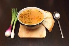 cebulkowy zupny warzywo Zdjęcie Stock