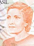 Cecília Benevides de Carvalho Meireles portrait Stock Image