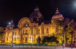 CEC宫殿在布加勒斯特 免版税图库摄影