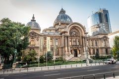CEC Bank a Bucarest, Romania Immagine Stock Libera da Diritti