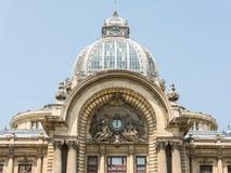 CEC Bank In Bucharest Stock Foto