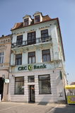 CEC Bank building in Brasov Stock Photos