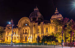 CEC Palace in Bucharest Royalty Free Stock Photography