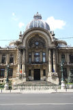 CEC Palace in Bucharest, Romania Stock Image