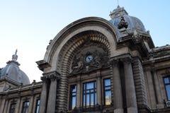 CEC Palace em Bucareste, Romênia Imagem de Stock Royalty Free