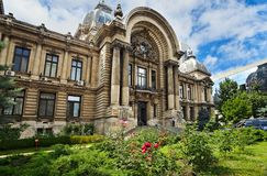 Free CEC Palace In Bucharest Royalty Free Stock Photography - 156471827